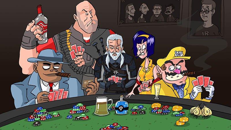 partie poker maison