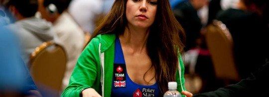 joueuse de poker